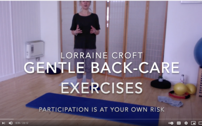 Lorraine's Daily Back-Care Pilates Video